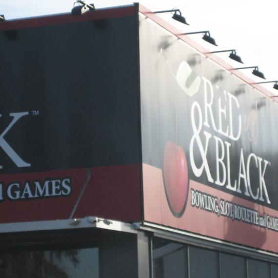 Asti. Red&Black. insegne casinò