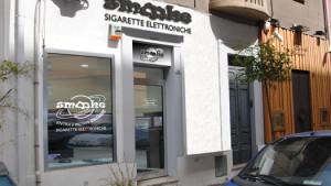 insegne luminose smooke a Cagliari