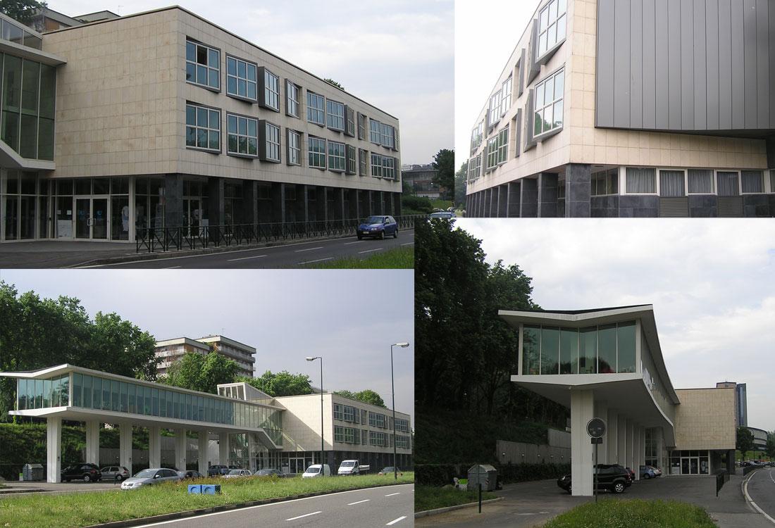 Situazione ante operam dell'intervento di identificazione della sede di Casa Ugi a Torino