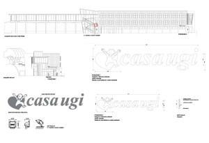 Presentazione della pratica edilizia per le insegne che identificano Casa Ugi a Torino