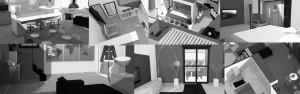 Sfondo home slide architettura. Immagini del progetto di interni a Nichelino per una residenza privata.