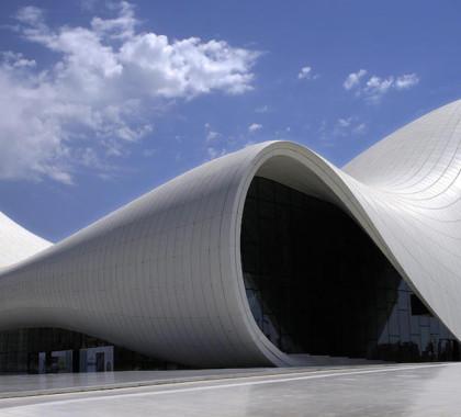 2012 Baku Heydar Aliyev Centro Culturale