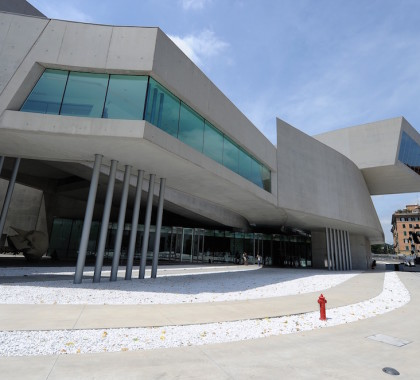 Roma_MAXXI, il Museo delle arti del XXI secolo