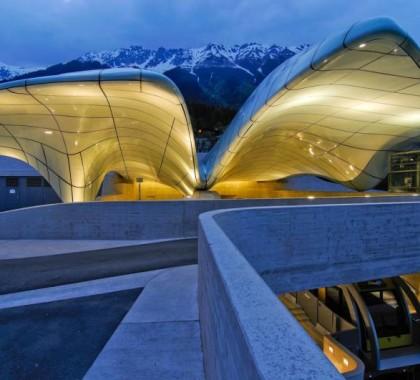 Innsbruck, Austria, Hungerburgbahn Railway, la funicolare
