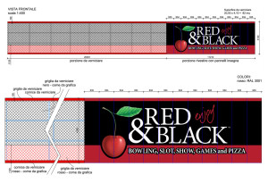 Red&Black insegna Asti progetto stutturale