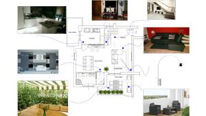 input per la stesura del progetto architettonico degli interni