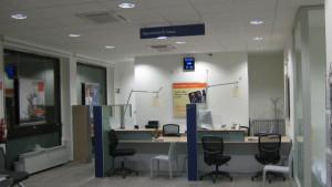 INTESA SANPAOLO Forno Canavese coordinamento in fase di realizzazione del progetto di interni per il revampiang della filiale bancaria