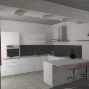 Studio di interni per una residenza privata a Nichelino