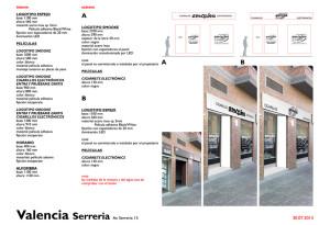 Studio della visual identity dello store smooke a Valencia, insegne e vetrofania del brand smooke