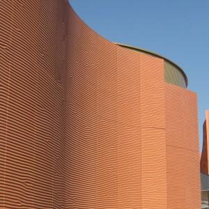 Facciata padiglione Emirati Arabi Expo 2015 Milano
