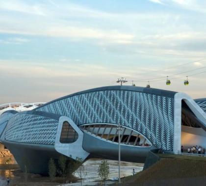 Saragozza, Spagna, Il Bridge pavilion all'Expo